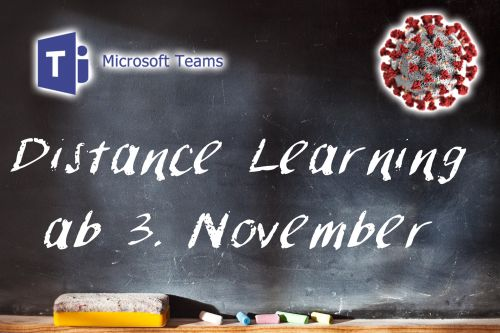 Distance Learning ab 3. November